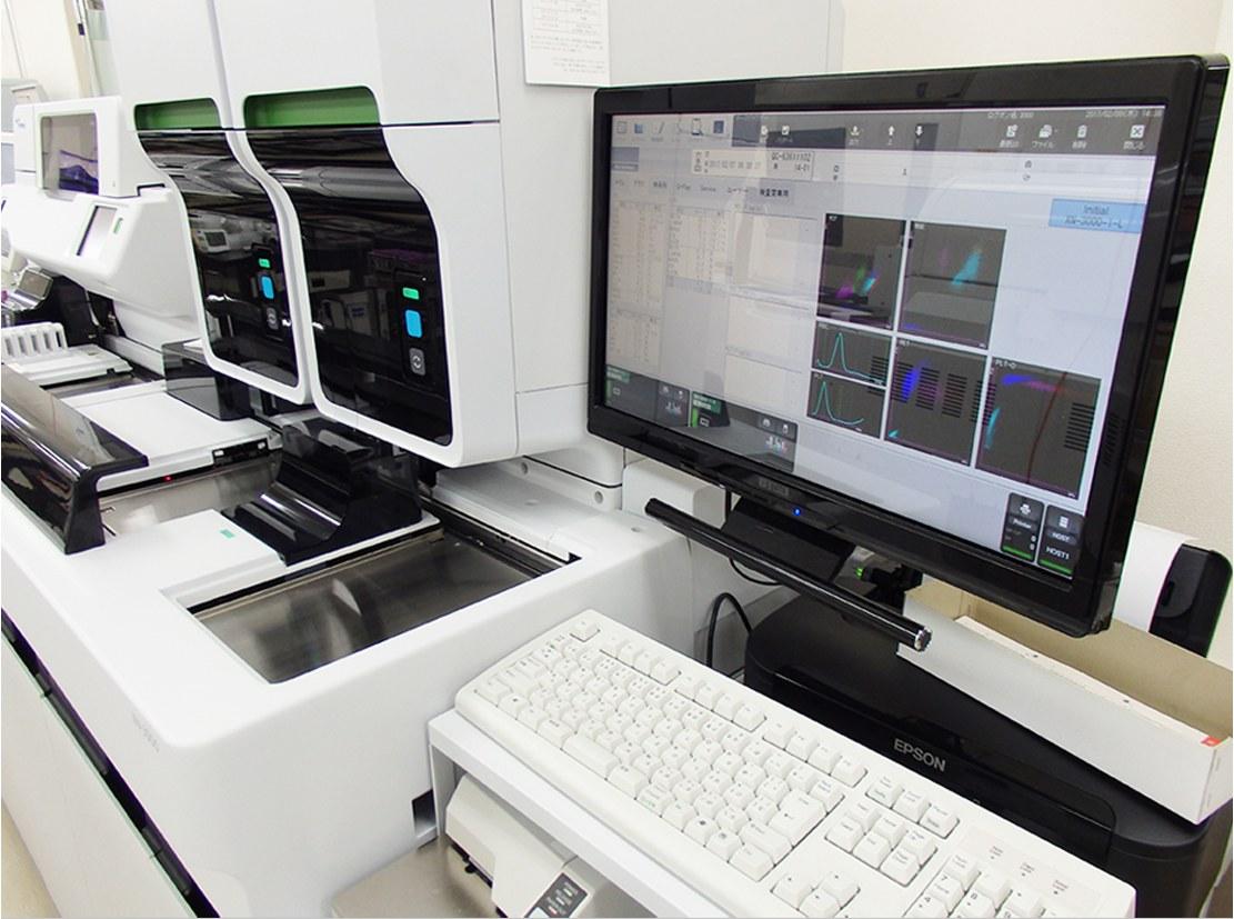 血液検査装置:白血球数・赤血球数等を測定