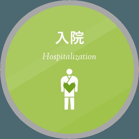 入院の手続きや入院生活についてはこちら。