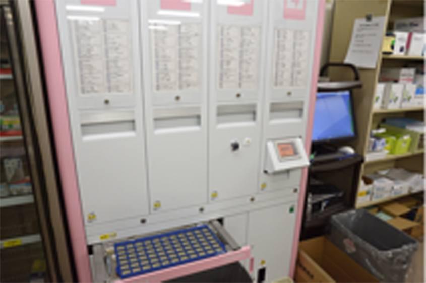外用薬・水薬保管棚